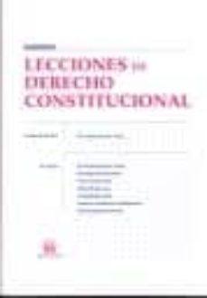Ojpa.es Lecciones De Derecho Constitucional Image