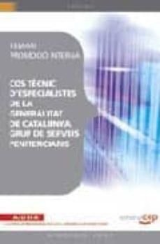 Inmaswan.es Cos Tecnic D Especialistes De La Generalitat De Catalunya, Grup D E Serveis Penitenciaris. Temari Promocio Interna Image