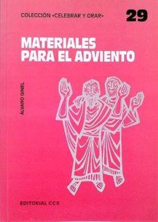 MATERIALES PARA EL ADVIENTO - VVAA | Adahalicante.org
