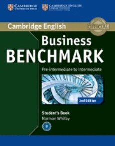 Libros gratis para descargar para teléfonos android. BUSINESS BENCHMARK (2ND EDITION) PRE-INTERMEDIATE TO INTERMADIATE . BULATS STUDENT´S BOOK