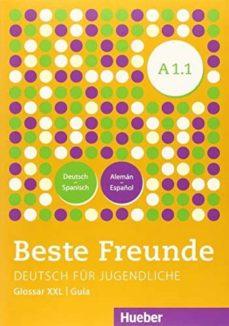 Descarga gratuita de la base de datos del libro BESTE FREUNDE.A1.1.KURSB.(AL.)+XXL 9783193710512 in Spanish