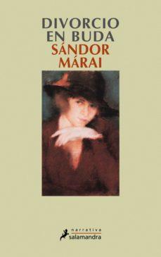 divorcio en buda (ebook)-sandor marai-9788415470212