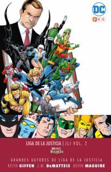 Lofficielhommes.es Grandes Autores De La Liga De La Justicia: Keith Giffen, J.m. Dematteis Y Kevin Maguire - Jli (Vol. 2) Image
