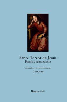 santa teresa de jesus: poesia y pensamiento-santa teresa de jesus-9788420697512