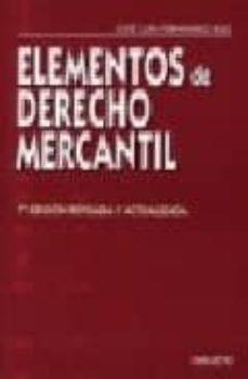 Encuentroelemadrid.es Elementos De Derecho Mercantil Image