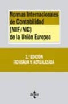 Permacultivo.es Normas Internacionales De Contabilidad (Niif / Nic) De La Union E Uropea (2ª Ed.) (Biblioteca De Textos Legales Nº 287) Image