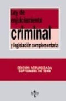 Titantitan.mx Ley De Enjuiciamiento Criminal Y Legislacion Complementaria (24ª Ed.) Image