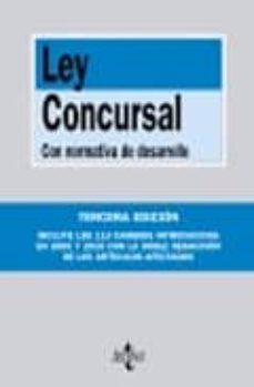 Geekmag.es Ley Concursal: Con Normativa De Desarrollo (3ª Ed.) Image