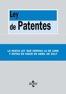 ley de patentes: ley 24/2015, de 24 de julio-9788430971312
