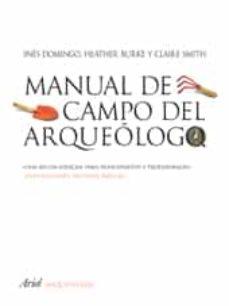 Garumclubgourmet.es Manual De Campo Del Arqueologo Image