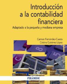introduccion a la contabilidad financiera-carmen fernandez cuesta-cristina gutierrez lopez-9788436831412