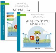 Nuevos ebooks descargar gratis GUIA: MI PRIMER DIA DE COLE + CUENTO: MIGUEL Y SU PRIMER DIA DE COLE 9788436842012 in Spanish de CAROLINA GONZALVEZ MACIA, MARIA VICENT JUAN, JOSE MANUEL GARCIA FERNANDEZ