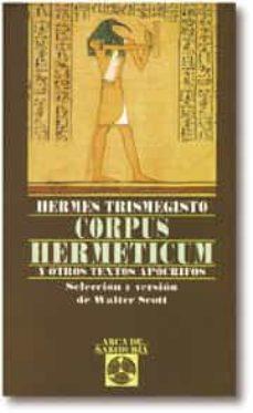 corpus hermeticum y otros textos apocrifos-9788441403512