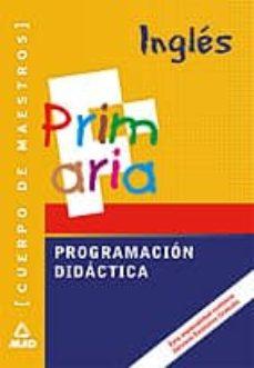 Colorroad.es Cuerpo De Maestros. Ingles: Programacion Didactica Image