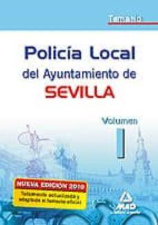 Chapultepecuno.mx Policia Local Del Ayuntamiento De Sevilla. Temario. Vol. I Image