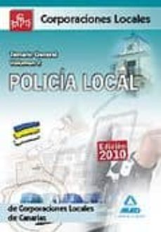 Debatecd.mx Policia Local De Canarias. Temario General. Volumen Ii Image