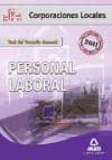 Padella.mx Personal Laboral De Corporaciones Locales: Test Del Temario Gener Al Image