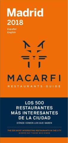 guia macarfi 2018 mad/bcn-9788469758212