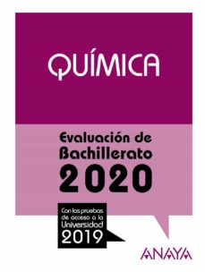 Chapultepecuno.mx Quimica: Evaluacion De Bachillerato 2020 - Prueba Acceso Universidad Image