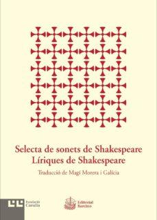 Eldeportedealbacete.es Selecta De Sonets De Shakespeare. Líriques De Shakespeare Image