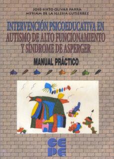 Curiouscongress.es Intervención Psicoeducativa En Autismo De Alto Funcionamiento Y Síndrome De Asperger. Manual Práctico Image