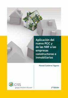 Permacultivo.es Aplicacion Del Nuevo Pgc Y De Las A Las Niif Empresas Constructor As E Inmobiliarias Image