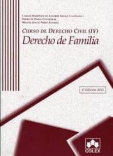Geekmag.es Curso De Derecho Civil (Iv) Derecho De Familia. 4ª Edicion 2014 Image