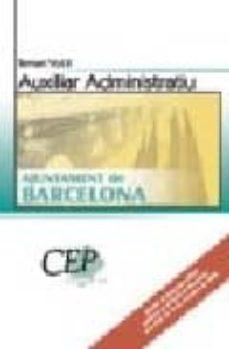 Inmaswan.es Temari Vol. Ii Oposicions Auxiliar Administratius Ajumntament De Barcelona Image