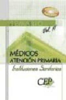 Inmaswan.es Temario Medicos Atencion Primaria De Instituciones Sanitarias. Vo L. Ii Image