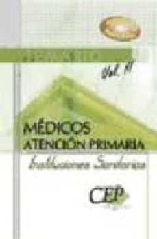 Alienazioneparentale.it Temario Medicos Atencion Primaria De Instituciones Sanitarias. Vo L. Ii Image