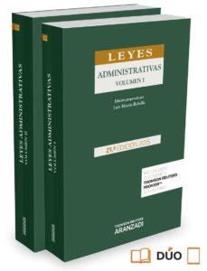 Lofficielhommes.es Leyes Administrativas (21ª Ed.) Image
