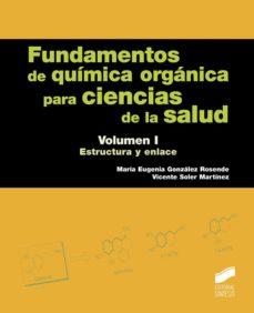 Colorroad.es Fundamentos De Química Orgánica Para Ciencias De La Salud Vol. 1 Image