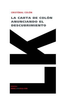 Carreracentenariometro.es La Carta De Colon Anunciando El Descubrimiento Image