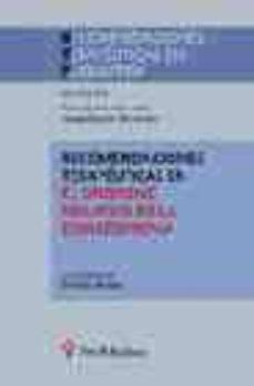 Descargar ebooks completos de google RECOMENDACIONES TERAPEUTICAS EN EL SINDROME NEGATIVO DE LA ESQUIZ OFRENIA  de ENRIQUE ALVAREZ 9788497060912