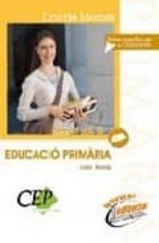 Vinisenzatrucco.it Cos De Mestres Educacio Primaria: Temari (Vol. Iii) Image