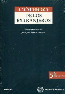 CODIGO DE LOS EXTRANJEROS (5ª ED) - VV.AA. | Triangledh.org