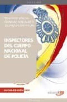 Carreracentenariometro.es Inspectores Del Cuerpo Nacional De Policia. Ciencias Sociales Y T Ecnico Cientificas. Vol. Iii Image