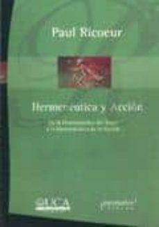 Alienazioneparentale.it Hermeneutica Y Accion. De La Hermeneutica Del Texto A La Hermeneu Tica De La Accion Image