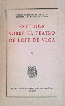 Canapacampana.it Estudios Sobre El Teatro De Lope De Vega Ii Image