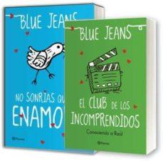 PACK NO SONRIAS QUE ME ENAMORO + EL CLUB DE LOS INCOMPRENDIDOS: C ONOCIENDO  A RAUL | BLUE JEANS | Comprar libro 8432715064022