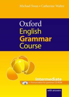 Descargar libro de google books en linea OXFORD ENGLISH GRAMMAR COURSE INTERMEDIATE WITH ANSWERS AND CD-ROM 9780194420822 de WOLE SOYINKA