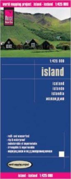 islandia mapa de carreteras (1:425000)-9783831773022