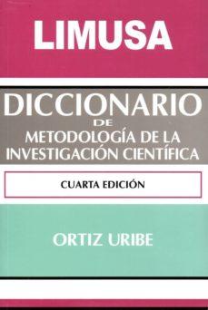 Encuentroelemadrid.es Diccionario De Metodologia De La Investigacion Cientifica (4ª Ed.) Image