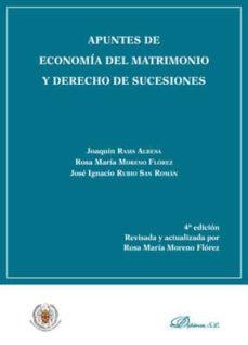 Padella.mx Apuntes De Economía Del Matrimonio Y Derecho De Sucesiones Image