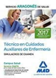 Viamistica.es Técnico En Cuidados Auxiliares De Enfermería Del Servicio Aragoné S De Salud. Simulacros De Examen Image