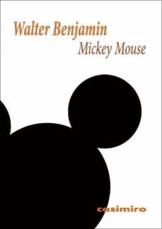 mickey mouse-walter benjamin-9788416868322