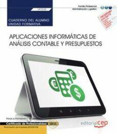 Eldeportedealbacete.es (Uf0335) Cuaderno Del Alumno. Aplicaciones Informaticas De Analisis Contable Y Presupuestos. Certificados De Profesionalidadfinanciacion De Empresas (Adgn0108) Image