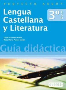 Cdaea.es Lengua Castellana Y Literatura 3.º Eso. Guía Didáctica Image