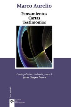 pensamientos cartas testimonios (2ª ed.)-9788430949922