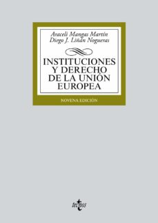 Descargar INSTITUCIONES Y DERECHO DE LA UNION EUROPEA gratis pdf - leer online